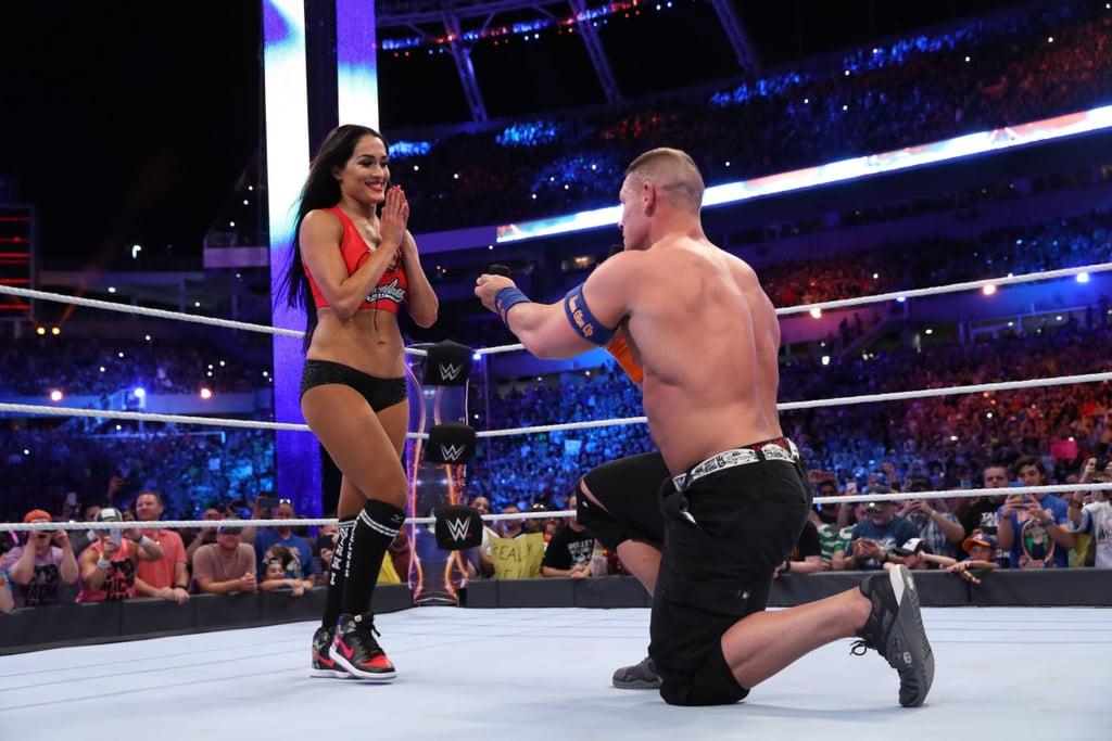 John Cena and Nikki Bella Engaged April 2017