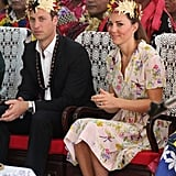 They Looked Lovely in Their Flower Crowns in Tuvalu