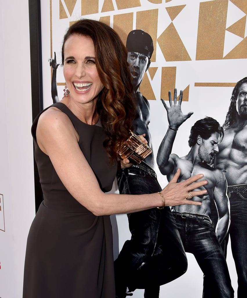 Andie MacDowell NEEDED to Feel Those Abs For Herself