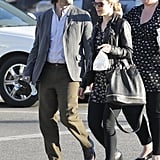 Michael Sheen Lunches With Rachel McAdams Prior to His Breaking Dawn Premiere