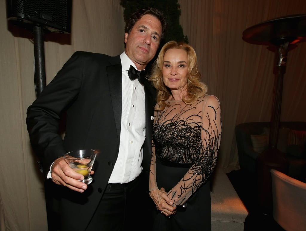 Steven Levitan mingled with Jessica Lange at the Fox afterpaty.