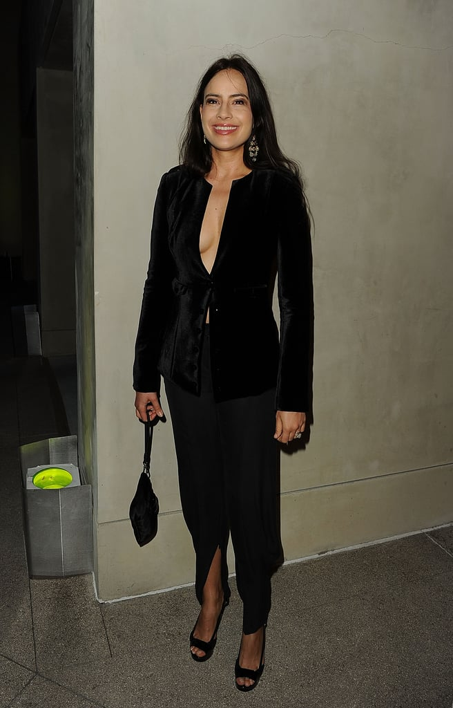 Sophie Winkleman at the Giorgio Armani and Vanity Fair Private Dinner in October 2011
