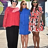 Phyllis Smith, Amy Poehler, and Mindy Kaling