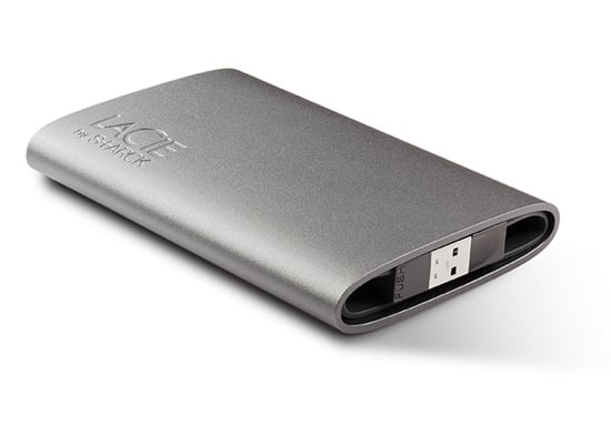 LaCie Hard Drive Designed by Philippe Starck