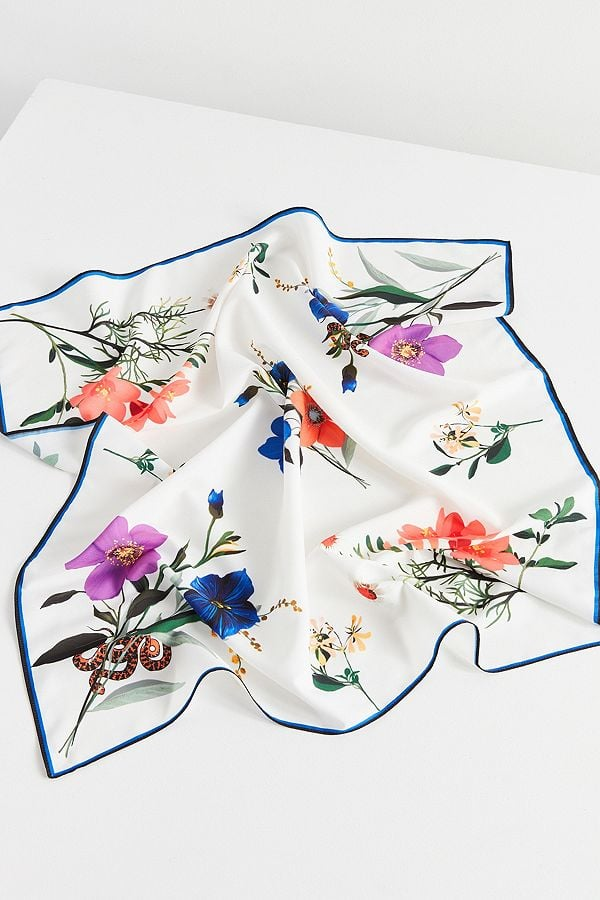 Urban Outfitters Large Silky Square Scarf