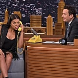 See Taraji P. Henson Shimmy For Jimmy in Her Perfect Fringe Outfit