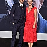 Pictured: Tom Hardy and Kelly Marcel