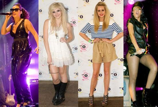 Pictures of Radio 1's Big Weekend Inc Alicia Keys, Rihanna, Pixie Lott, Diana Vickers, Cheryl Cole, Dizzee Rascal, Jared Leto