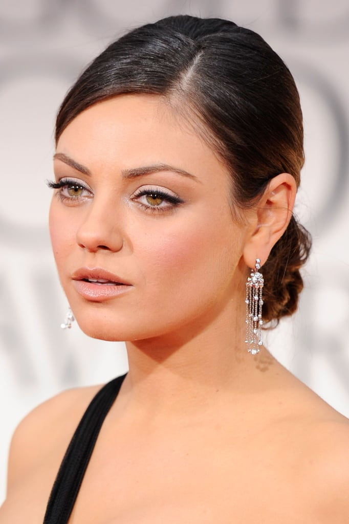 Mila Kunis at the Golden Globes.