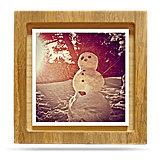 Hatchcraft's bamboo shadow-box frames ($18-$27) make such a unique gift, and their square shape is specifically designed for Instagram snaps.
