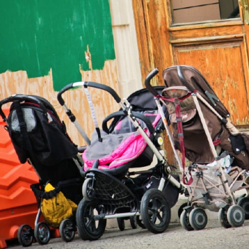 "Would You Leave Your Baby in a ""Parked"" Stroller?"