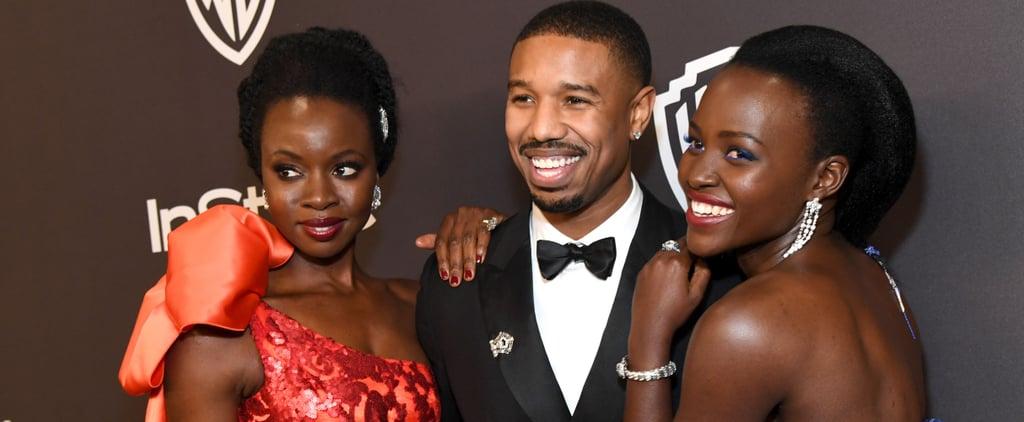 Black Panther Cast Golden Globes Lift Video 2019