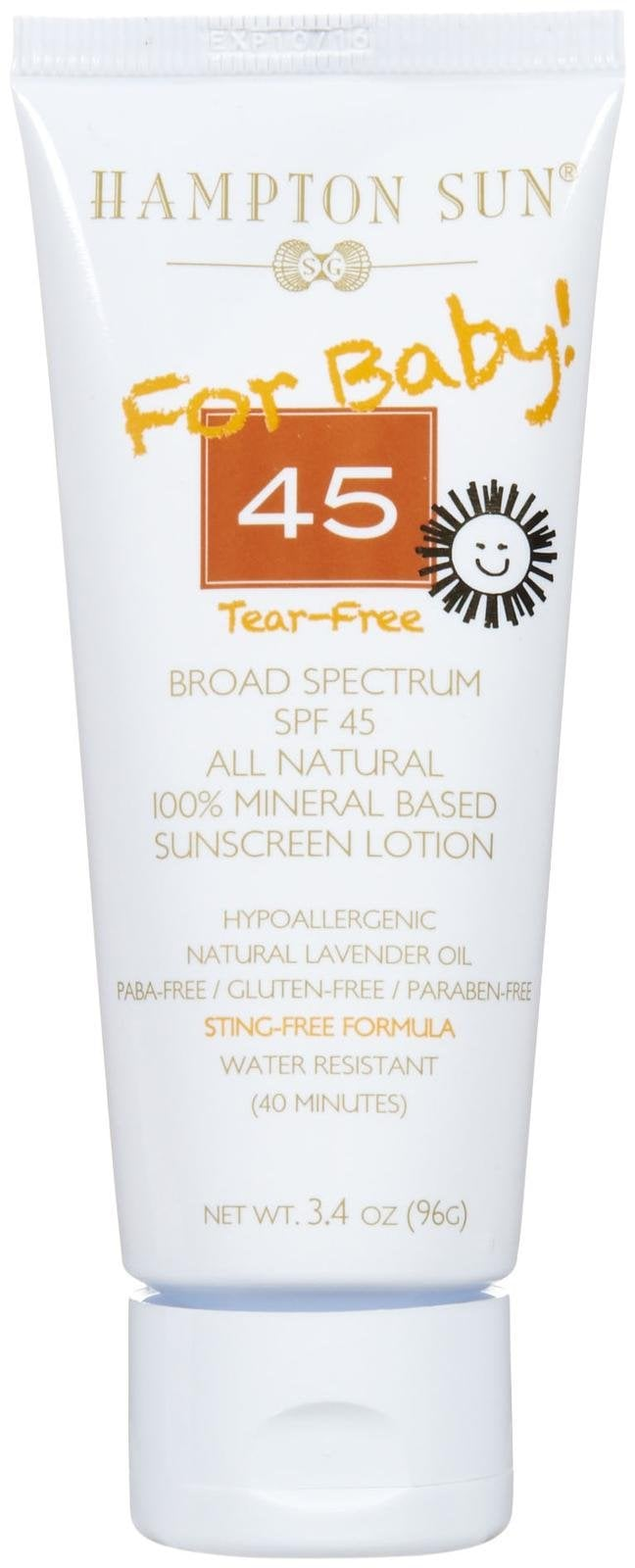 Sephora (and Online) Find: Hampton Sun Sunscreen Lotion For Baby, SPF 45