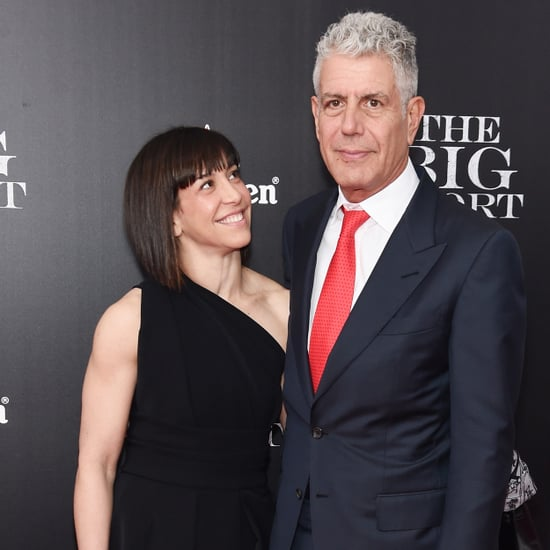 Anthony Bourdain and Ottavia Busia Split 2016