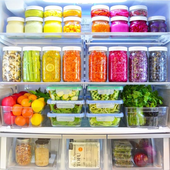 Colorful Photos of Plant-Based Fridges on Instagram