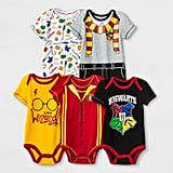 Harry Potter 5-Pack Baby Bodysuits