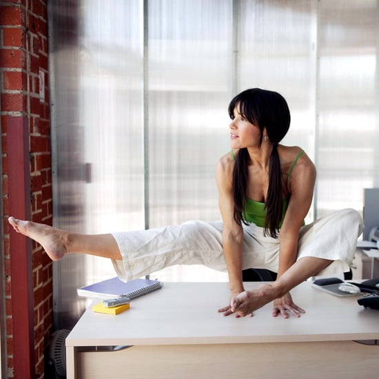 Workers On Wheels >> Desk Exercises to Strengthen Abs, Thighs, and Buns | POPSUGAR Fitness
