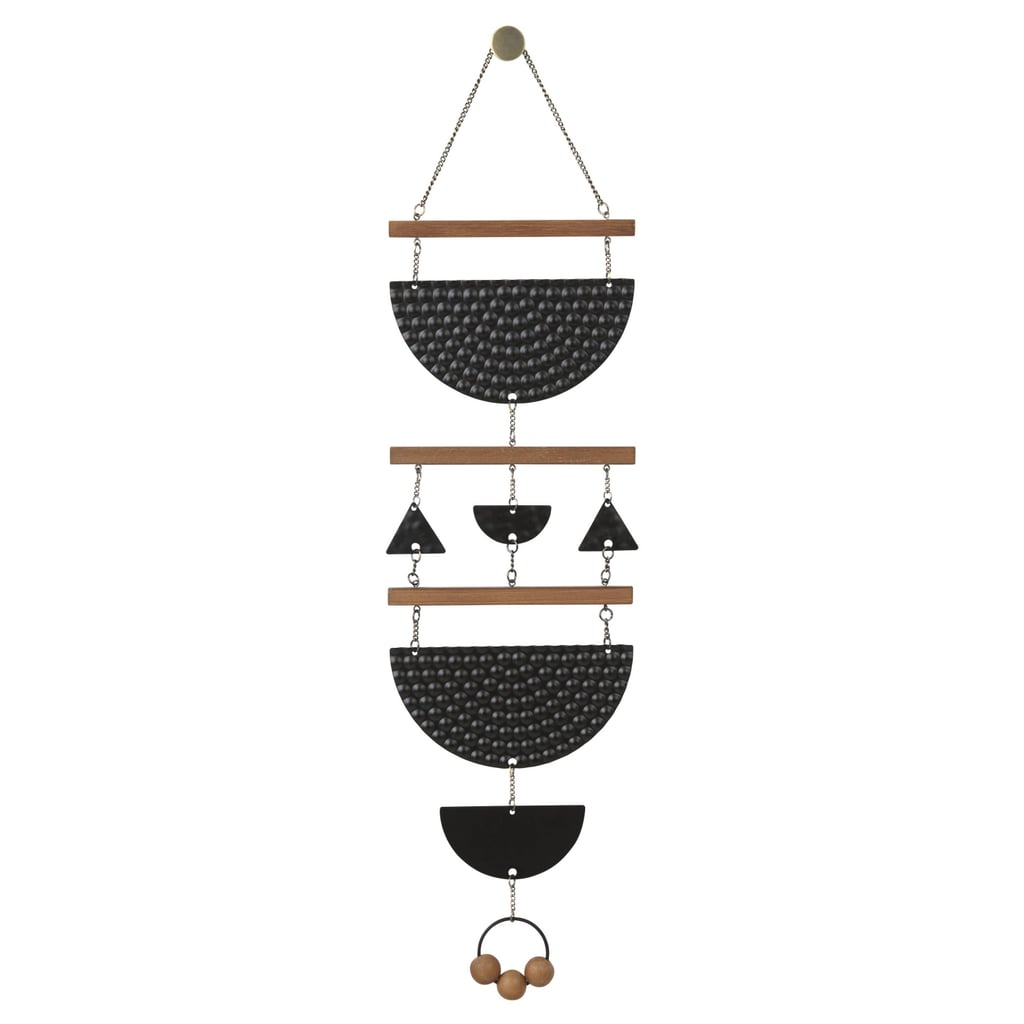 Target Wall Hangings wall hanging wood and black metal ($20) | target labor day home