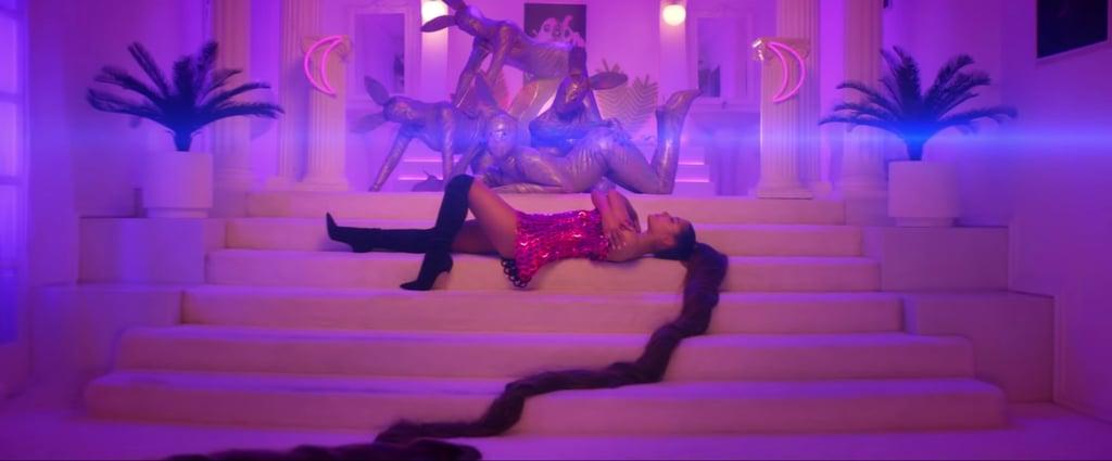 "Ariana Grande's ""7 Rings"" Hair Looks"