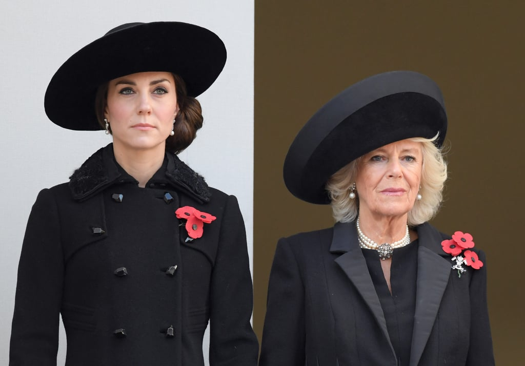 Kate Middleton Wears Black Coat on Remembrance Day 2016