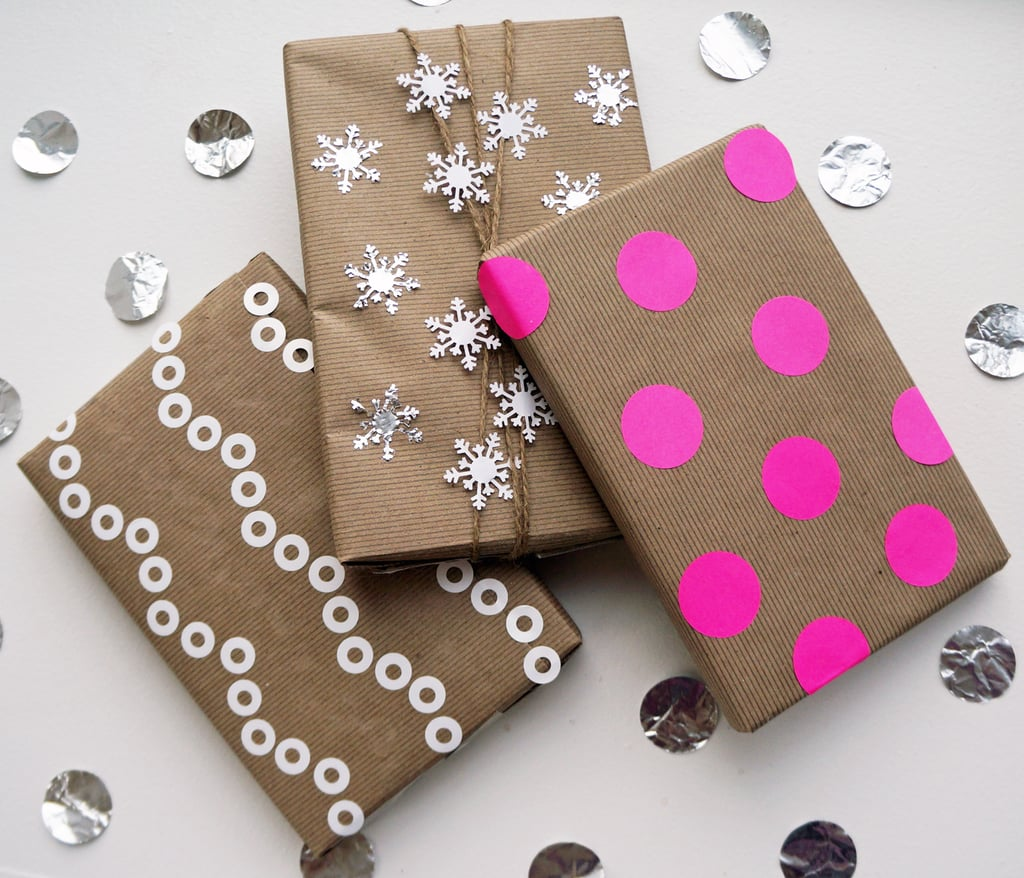 Gift Wrap With Kraft Paper