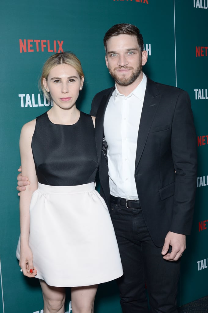 Zosia Mamet and Evan Jonigkeit