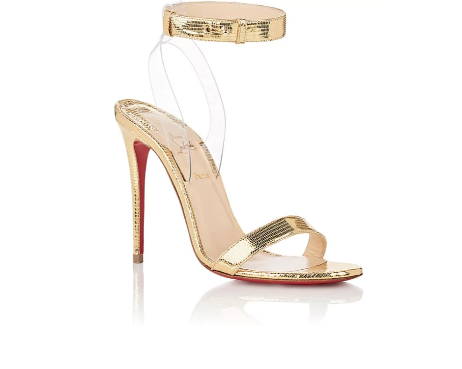 premium selection 0b44a fd1a5 Christian Louboutin Jonatina Leather & PVC Sandals | Gigi ...