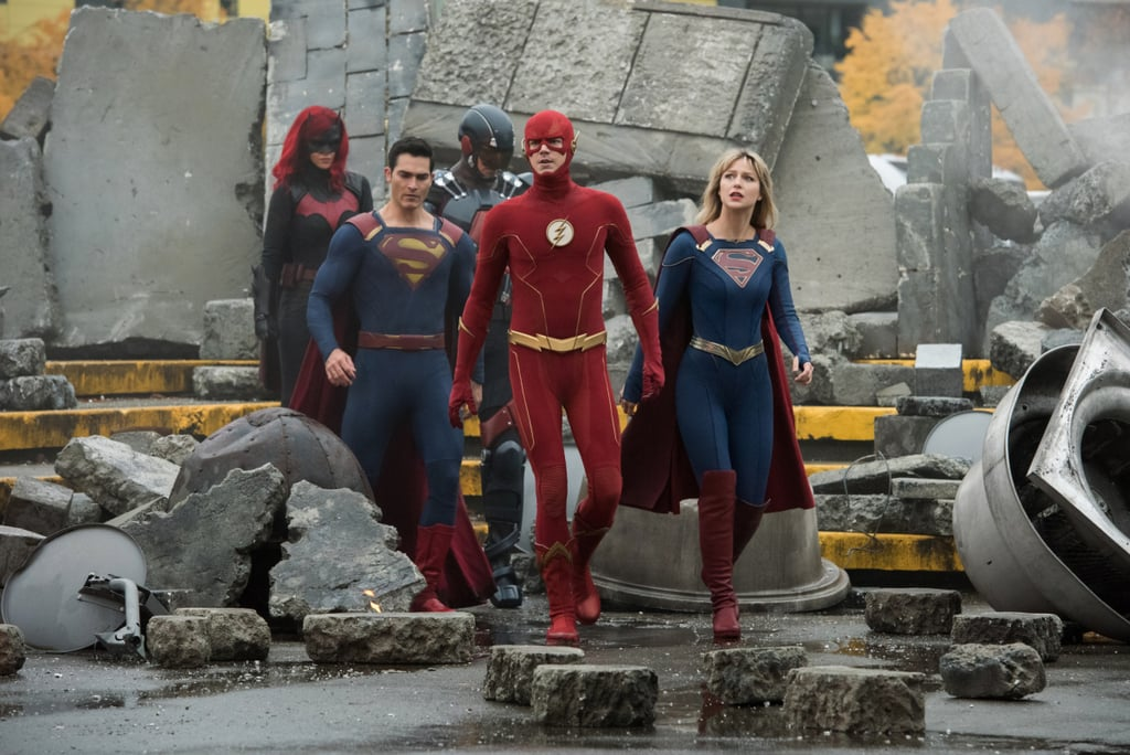 Arrowverse Heroes Suit Up to Defend the Multiverse in Crisis on Infinite Earths Photos