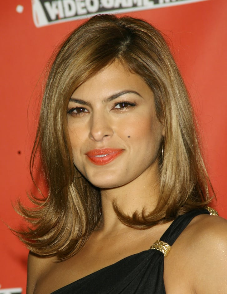 Eva Mendes | Celebrities With the Clavicut Hairstyle ...