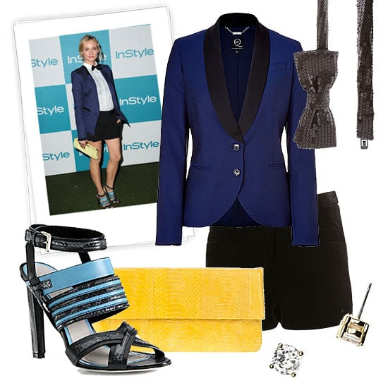 New Year's Eve Outfit Inspired by Diane Kruger
