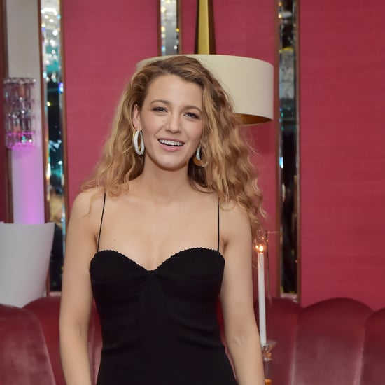 Blake Lively With Curly Hair March 2018