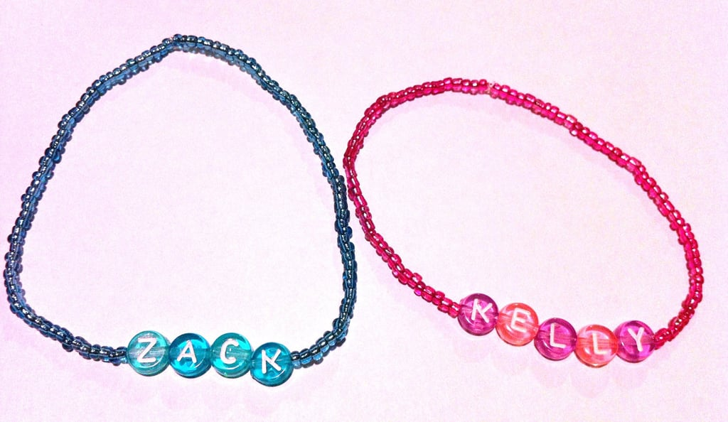 Zack and Kelly friendship bracelets ($12)