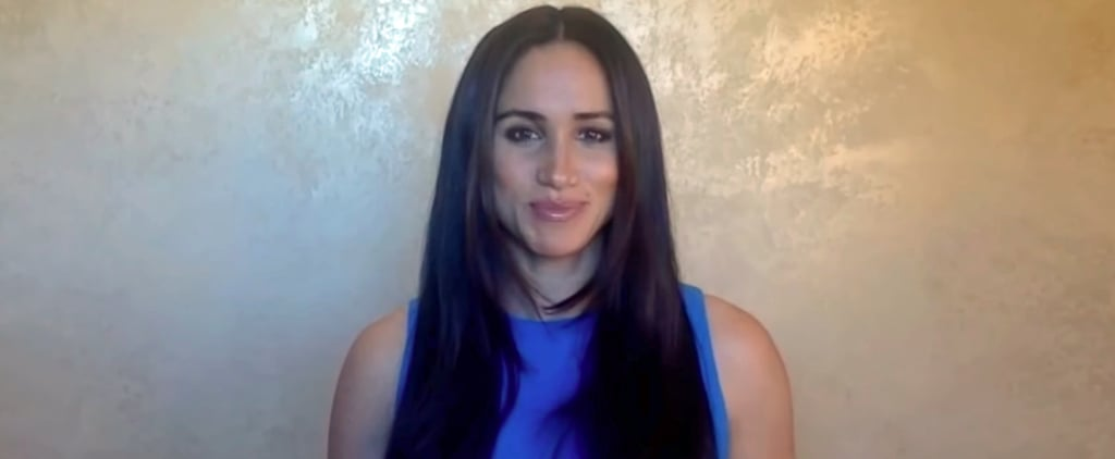 Meghan Markle's Blue Adam Lippes Top For 2020 Girl Up Speech