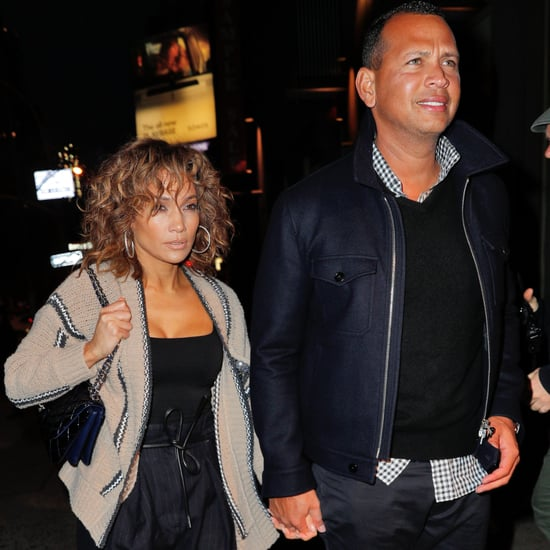 Jennifer Lopez and Alex Rodriguez NYC Date Night April 2017