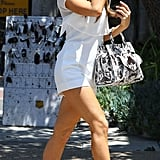 Beckinsale was the picture of Memorial Day perfection donning a white romper and metallic pumps on her way to Joel Silver's annual Malibu bash in 2014.
