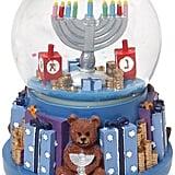 Hanukkah Menorah Snow Globe