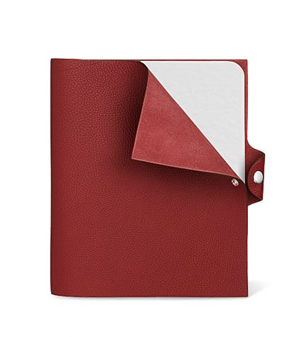 I view these little luxuries as life's ultimate indulgence. Who needs an Hermès leather notebook ($360)? Nobody. Who wants one? Me.