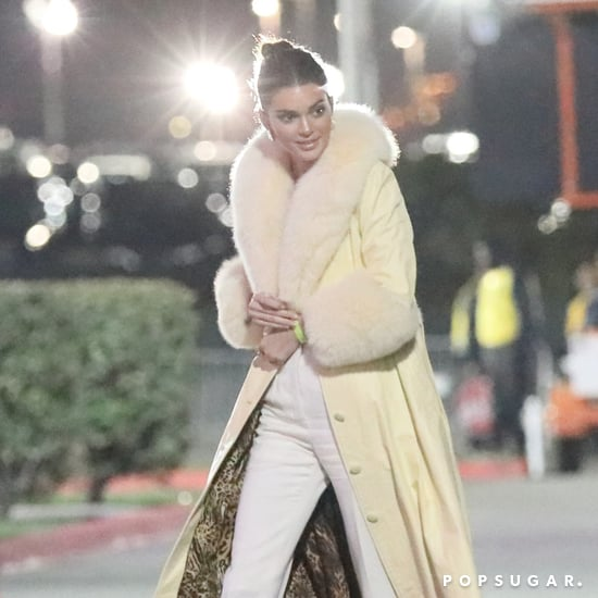 Kendall Jenner's Yellow Coat 2018