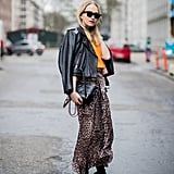Wear a Pair With a Leopard-Print Skirt