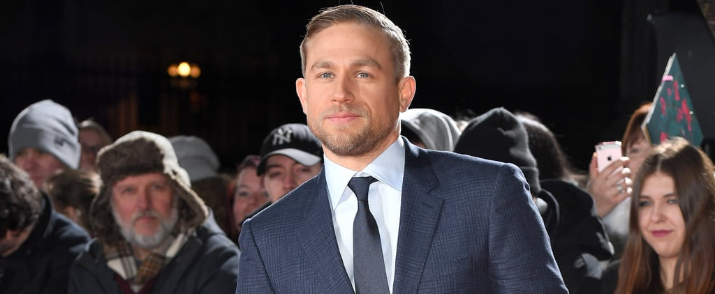 You Won't Believe the Gross Thing 1 Fan Asked Charlie Hunnam to Give Her