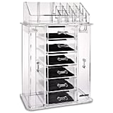 Multifunctional is the name of the game with the Miusco Jewelry Box and Makeup Organizer Set ($30). Not only does it have two slide-out panels for necklaces, but also includes six drawers to house your other jewelry. If that wasn't enough, the top section functions as makeup storage — perfect for your most-used products.