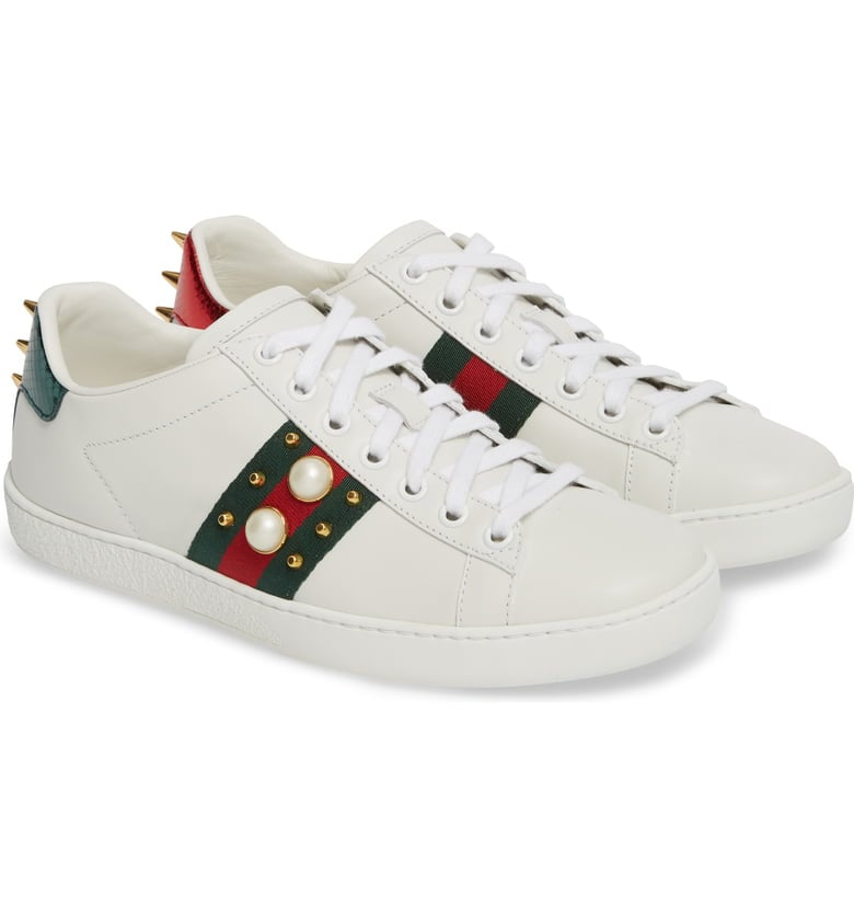e4df0cf1248 Gucci New Ace Low Top Sneaker
