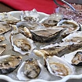 Oysters With Champagne Mignonette