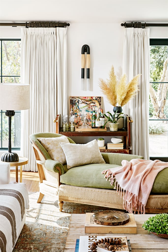 """On picking unique pieces for her home: """"Rather than buying on trend, Jake and I were both attracted to things that felt timeless. I like it when you can't tell an objects age, when you don't know whether it's brand new or a century old."""""""