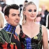 Sophie Turner and Joe Jonas Outfit Met Gala 2019