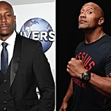 September: Tyrese Gibson vs. Dwayne Johnson