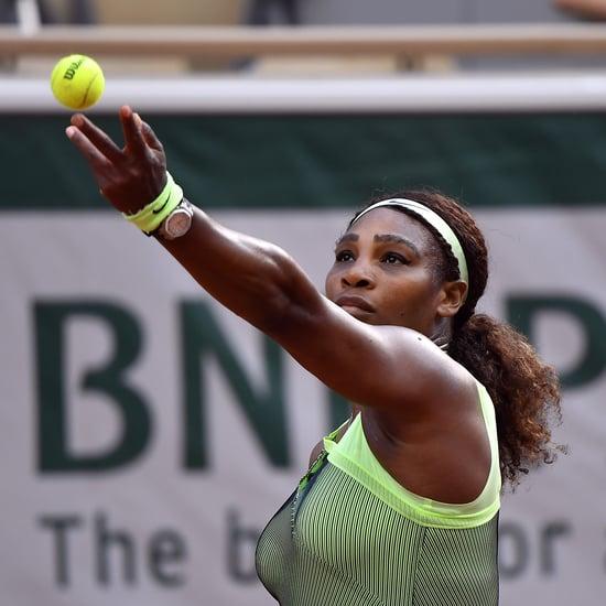 "Serena Williams Shows Off New ""Reverse Reflex Volley"" Shot"