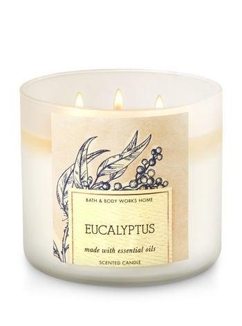 Eucalyptus candle ($25)