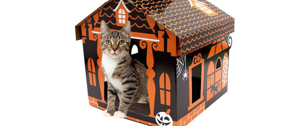 Halloween Must Have: Target's Haunted House Cat Scratcher