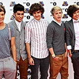 One Direction at the BBC Radio 1 Teen Awards in 2011